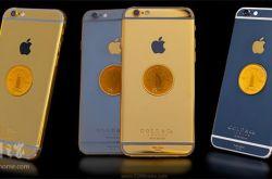 迪拜七星级酒店推出 镀金纪念版苹果iPhone6